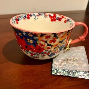 🆕 4 Liberty for Anthropologie tea cups